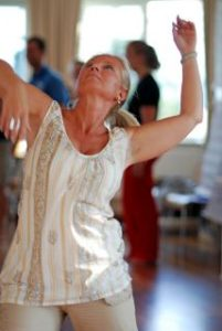 Ingrid dansar